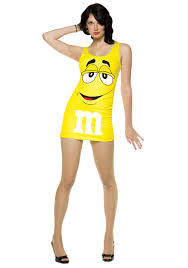 m m costume womens yellow m m costume costumes