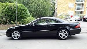 500 cl mercedes 2005 mercedes 500cl coupe v8 being auctioned at barons auctions