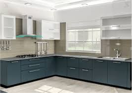 parallel shape modular kitchen