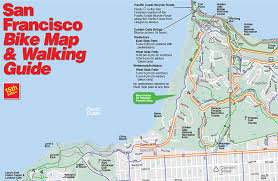 san francisco map maps routes san francisco bicycle coalition