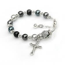 baby rosary bracelet 28 best baby girl rosary bracelets images on rosary