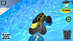 monster truck video game play water slide monster truck race new truck android gameplay fhd