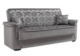 canap lit coffre canapé lit coffre velours gris mega canapé salon tissu pas cher