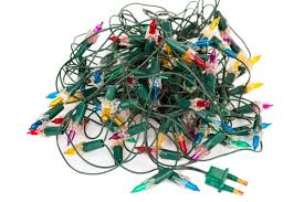sarah browing recycle old or nonworking holiday lights home and