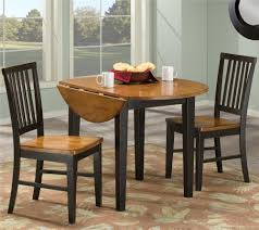 3 piece dining set with two drop leaves by intercon wolf and