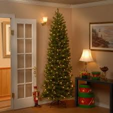 brown christmas tree slim christmas trees you ll wayfair