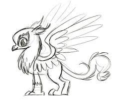image gilda sketch by lauren faust jpg my little pony