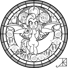 sg flutterbat coloring page by akili amethyst on deviantart