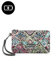 Beuti by Charging Wristlet Slate Brave Beauti In Prints Brave Beauti At
