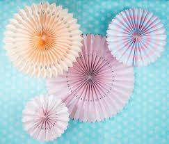 Flower Backdrop Pink Rosette Paper Flower Backdrop Party Wall Decoration Combo Kit