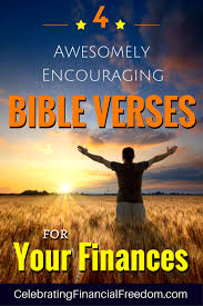 4 awesomely encouraging bible verses finances