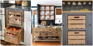 Pictures Of Kitchens With Backsplash Wooden Crate Drawers Why Every Country Kitchen Needs One Of