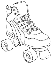 6 images of roller skating coloring pages free printable roller