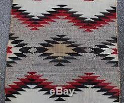 Indian Hand Woven Rugs Authentic Western Navajo Indian Hand Woven Wool Rug Nr