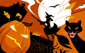 orange black halloween background scary halloween 2012 hd wallpapers pumpkins witches spider web