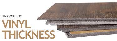 chic vinyl plank thickness thickness of vinyl plank flooring gurus