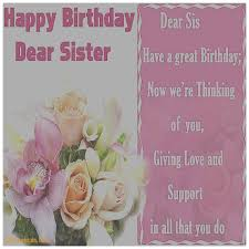 greeting cards awesome happy birthday greeting card for my sister