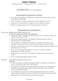 resume for college application objectives resume objectives for high students foodcity me