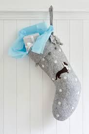 Stocking Grey Dachshund Christmas Stocking Sophie Conran Shop