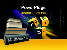 mathematics powerpoint template free download powerpoint
