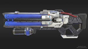 overwatch soldier 76 heavy pulse rifle fan art