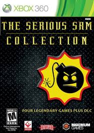 amazon com the serious sam collection xbox 360 video games