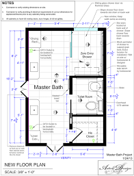 Bathroom Remodel Floor Plans Before U0026 After An Accessible Master Bathroom Is Created Using