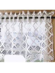 Pictures Of Kitchen Curtains by 14 Cute Kitchen Curtains Crochet Curtains Pinterest Kitchen