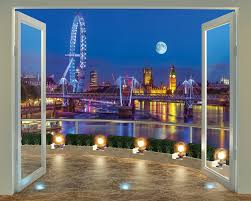 walltastic 8 x 10 ft the view collection paradise beach wallpaper walltastic 8 x 10 ft the view collection london skyline wallpaper mural multi colour