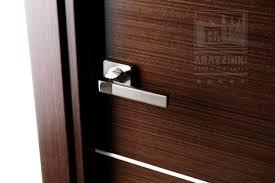 26 Inch Prehung Interior Door by Mia Wenge Wood Veneer Modern Interior Door