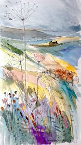 25 beautiful landscape paintings ideas on pinterest watercolour
