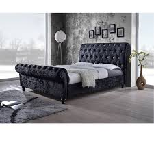 Fabric Platform Bed Traditional Fabric Platform Bed By Baxton Studio Free Shipping