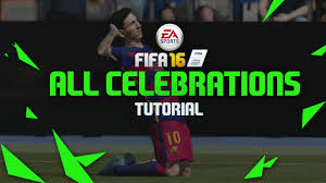 fifa 16 messi tattoo xbox 360 fifa 16 all celebrations tutorial hd xbox playstation youtube