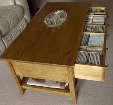 28 dvd storage coffee table beech cd dvd storage shelves coffee