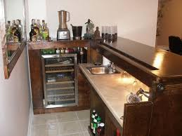 bar in kitchen ideas simple basement bars best 25 small basement bars ideas on