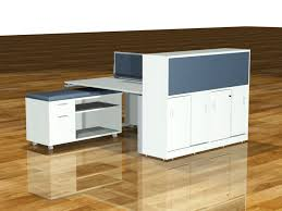 diamond desk 120 3 seat workstation with fabric desk dividers