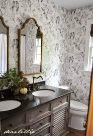 Wallpapered Bathrooms Ideas 33 Best Bathroom Wallpaper Ideas Images On Pinterest Wallpaper