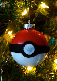 otaku crafts pokeball ornament