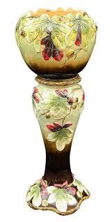 Pedestal Pots 200 Best Majolica Jardinières And Cache Pots Images On Pinterest