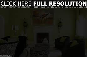 green yellow living room impressive interior ideas energic kitchen