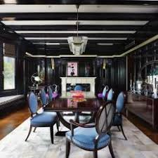 black lacquer dining room chairs photos hgtv