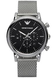 armani stainless steel bracelet images Emporio armani men 39 s chronograph watch ar1811 knight jewellers jpg