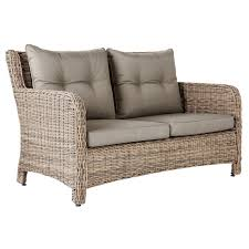 Rattan Settee New Hampshire 2 Seater Outdoor Sofa Rattan Oka