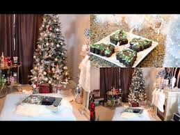 Christmas Table Decoration Youtube by Decorate With Me Christmas Room Tour Christmas Decorating Ideas