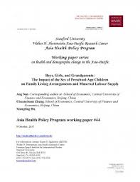 Program Paper Fsi Shorenstein Aparc Publications