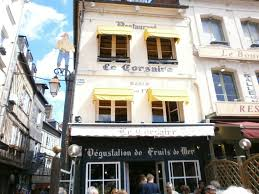 travel moules mariniere and a typical french lunch at le corsaire