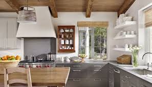 Upper Kitchen Cabinets Upper Kitchen Cabinets Painted Upper Stained Lower Cabinets With
