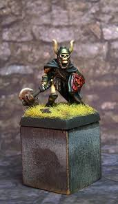 Miniature by Citadel Miniatures Fts25 Skeleton With Haunted Axe And Shield My