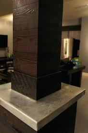 basement column wrap ideas basement column ideas lally column