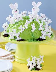 cakes candy and flowers candy lab easter classic our u201cbunny hill u201d cake u2013 hello cupcake
